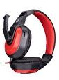 Snopy Sn-633 Siyah/Kırmızı Kulak Üstü Gaming Oyuncu Mikrofonlu Kulaklık Renkli
